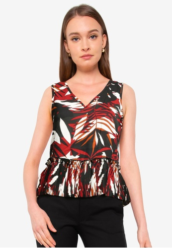 ONLY multi Libby Sleeveless Plisse Top EFB67AAC46BEFCGS_1
