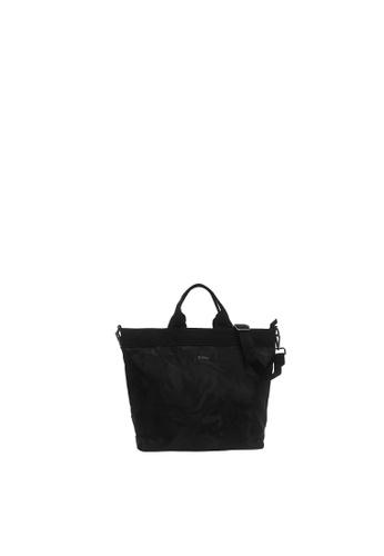 SEMBONIA black Sembonia Nylon Crossbody Bag 978E1ACA7412F6GS_1