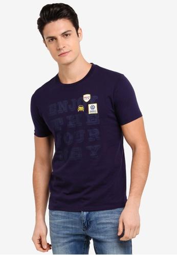 Volkswagen 海軍藍色 短袖印花T恤 3A551AA336513EGS_1