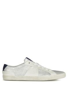 63f1a5cbc7172 Geox white Warley Sneaker C20ACSH5632688GS_1