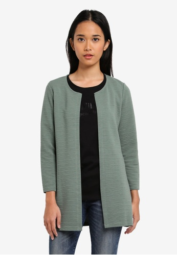 ONLY green ONLY ONE Long Loose Jersey Cardigan 945AEAAA168C9DGS_1