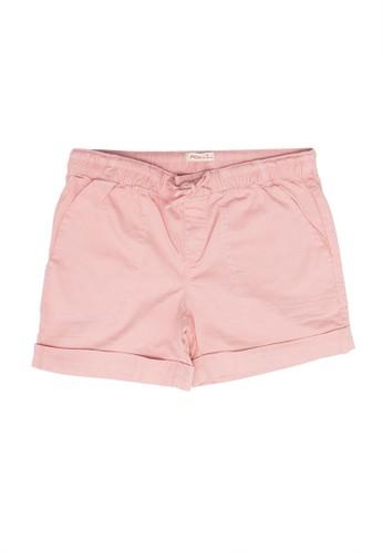 FOX Kids & Baby pink Plain Shorts F40CCKADEAAAD8GS_1