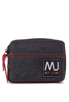 MJ by Mc Jim Canvas Wallet