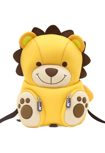 Nohoo yellow Nohoo Kids Backpack Roar (Yellow) 5E61DKC4FC122CGS_1