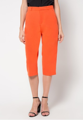 Raspberry orange Grace Cullotes Pants RA572AA58JBHID_1