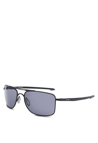 Oakley black Performance Lifestyle OO4124 Sunglasses OA636GL49MRAMY_1