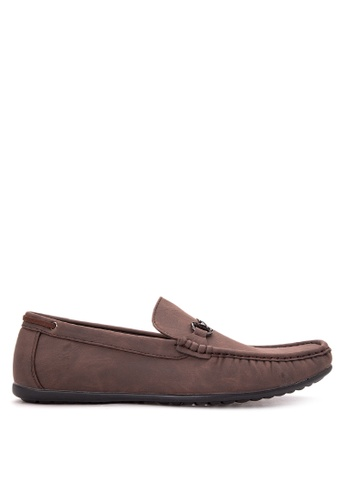 Wade brown Smart Casual Loafers WA436SH06CNPPH_1