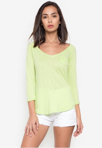 NEXT green Longsleeves Top F4265AA5BC6755GS_1