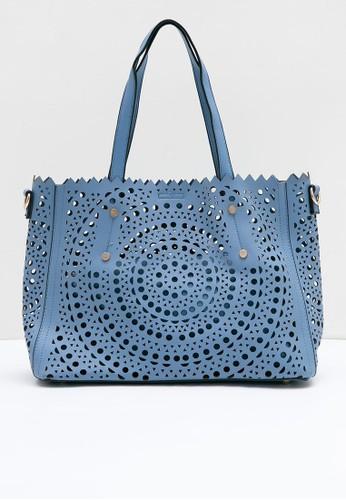 Berrybenka Label blue Cherkasy Martin Tote Bags Blue 9041BAC97C3604GS_1