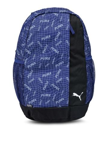 PUMA blue Beta Backpack 4B863AC3B79CEBGS_1