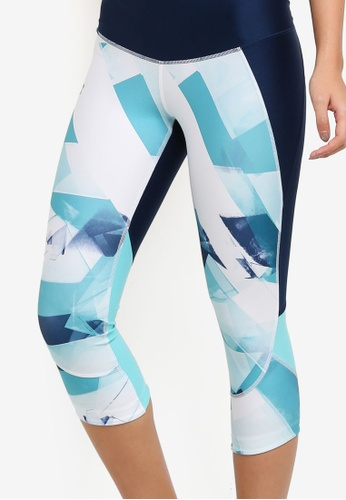 Armour Fly Fast Printed Capri Pants