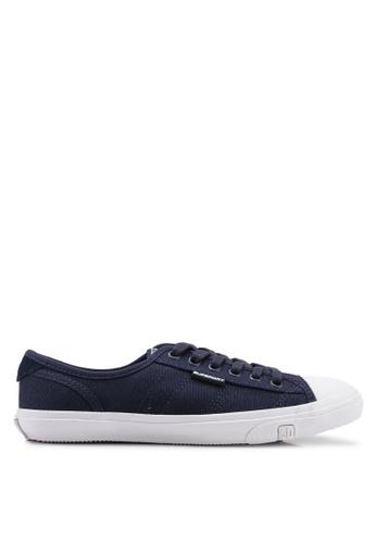 Superdry navy Low Pro Sneakers - Original & Vintage BE481SH954E95EGS_1