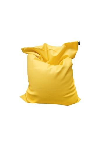 doob yellow SOOPADOOPA - versatile PVC leather doob bean bag (Yellow) 9D8C1HL7E33B3AGS_1