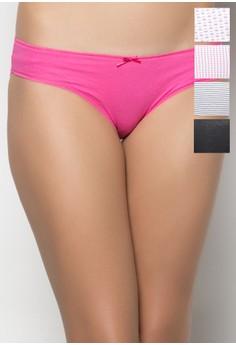 Ladies' 5-in-1 Bikini Panty Set