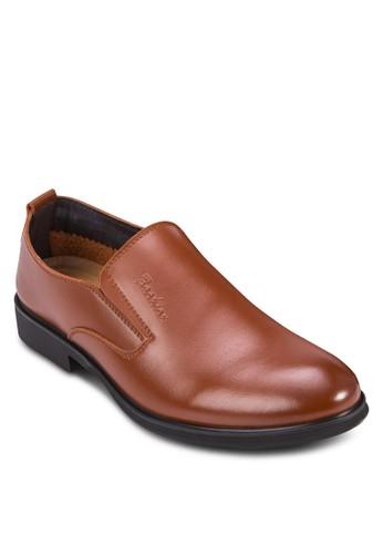 PU zalora 泳衣亮面紳士皮鞋, 鞋, 鞋