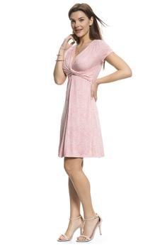 eb161b7a84817 Mayarya Grasse Maternity and Nursing Dress S$ 79.00. Sizes S M L