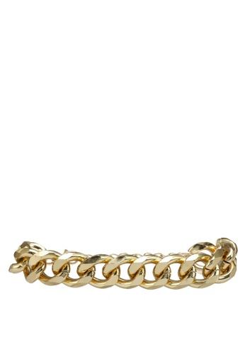 Red's Revenge gold Chain Link Bracelet 2E742ACAE63B72GS_1