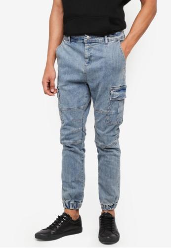 Cotton On blue Slim Denim Joggers D9929AAFC44D89GS_1