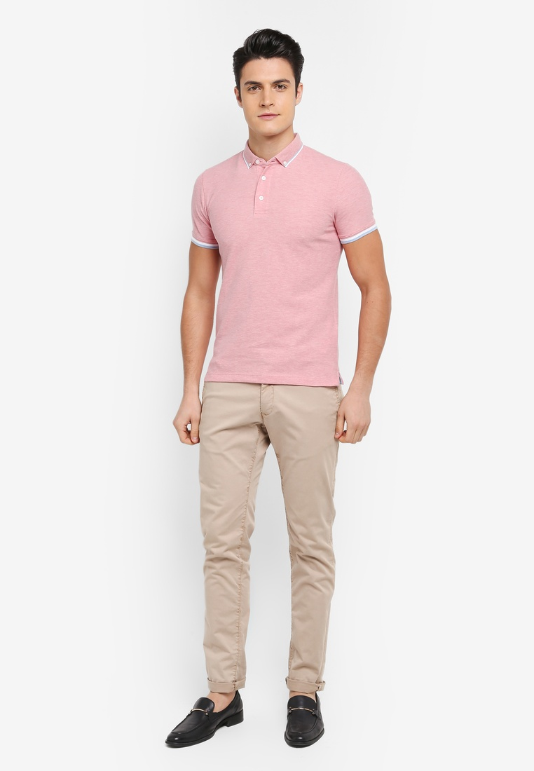 Shirt G2000 Pearl Polo Tipping Tone 2 Colllar Blush wZqCIWS
