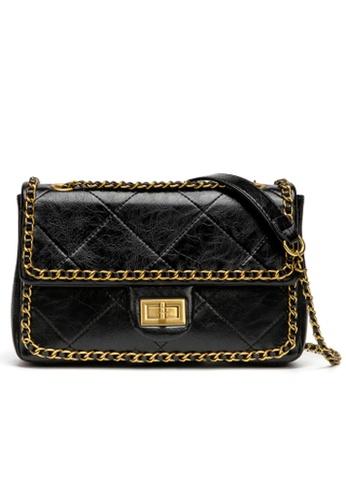 Trendyshop black Elegant Two Way Shoulder Bag D26EEAC773C4D9GS_1