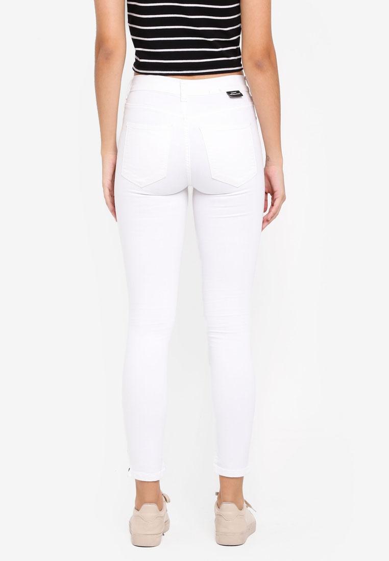 Dr Denim Jeans White Skinny Domino SgqwvS0