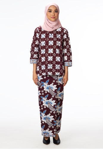 House Of Olsha multi Batik Kurung Kedah Malya ED456AAFBDB474GS_1