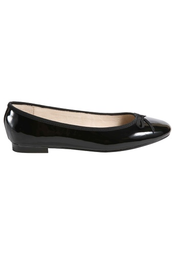 MAUD FRIZON black Soft patent ballerinas MA153SH67YDSHK_1