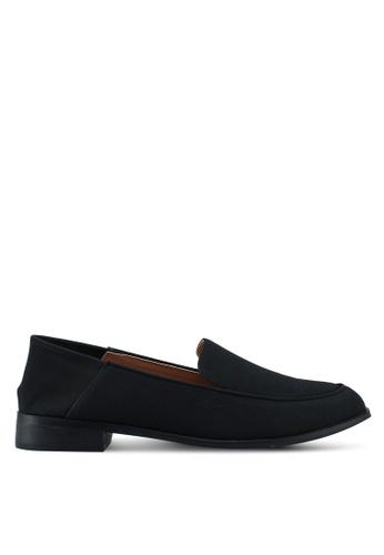 ZALORA black Penny Loafers DD014SH24813DFGS_1