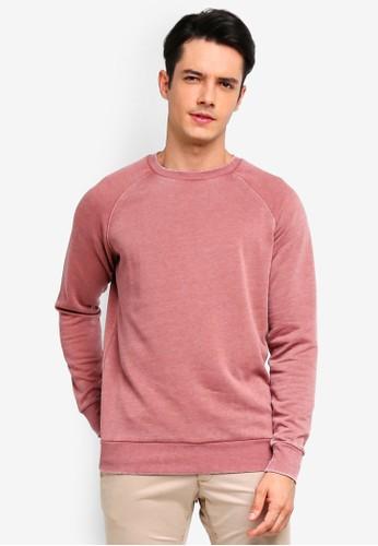 Brave Soul pink Crew Neck Sweatshirt 35AECAA671E42DGS_1