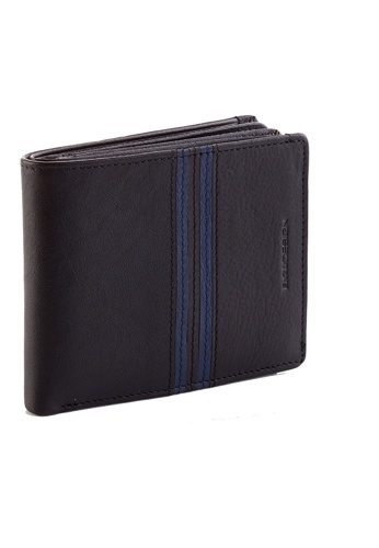 ENZODESIGN black 18 Card Slots Top Grain Cow Nappa Wallet  EN115AC98ZWJPH_1