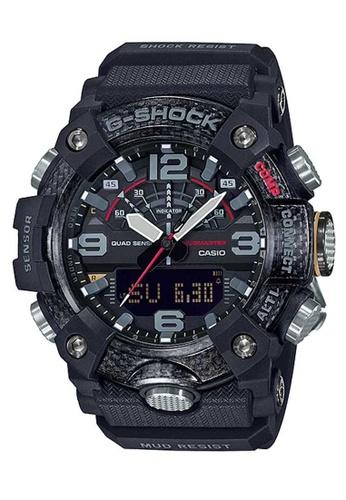 Casio black Casio G-Shock Mudmaster GG-B100-1ADR Black Carbon and Resin Watch 235FCAC6106BD0GS_1
