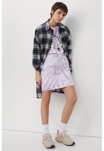 H&M purple Short dress 85F73AA3925511GS_1