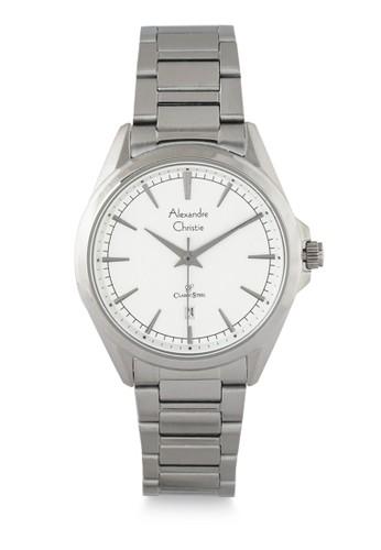 Alexandre Christie silver Alexandre Christie Jam Tangan Wanita - Silver White - Stainless Steel - 8580 LDBSSSL 4134DAC6B5D2D8GS_1