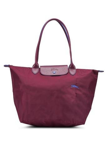 LONGCHAMP purple Le Pliage Club L Tote Bag (zt) B4AC0ACA1694E6GS_1