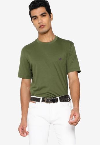 Brooks Brothers green Mens Knit T-Shirt 16CEBAAA81F161GS_1