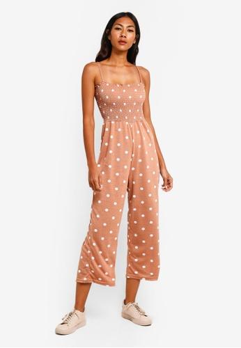 57536dd7aa9 Buy Cotton On Sian Shirred Jumpsuit Online on ZALORA Singapore