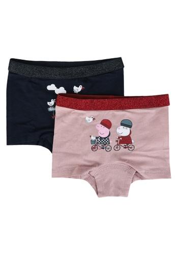 NAME IT navy 2-Pack Peppa Pig Hipster Panties 38445KABCE7AFCGS_1