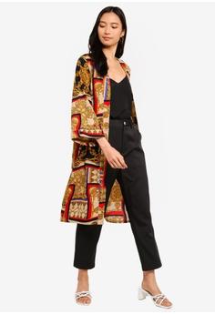 df9c2c708e185 38% OFF ZALORA Folded Sleeves Kimono S$ 39.90 NOW S$ 24.90 Sizes XS S M L XL