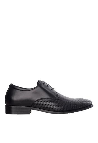 Obermain black Obermain Men's Kurt Lace Up Dress Shoe - Black 91320SHA8488A8GS_1