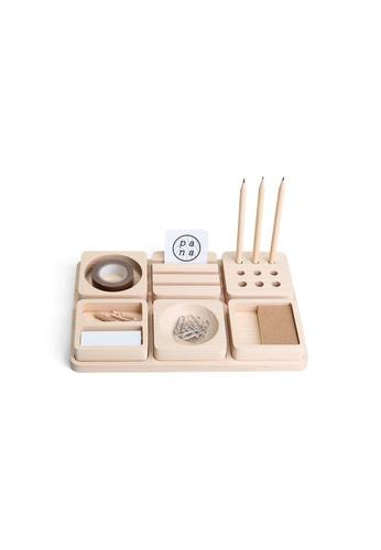 Pana Objects Tofu: Stationery Set (Maple) 33021HLD9AB8F2GS_1