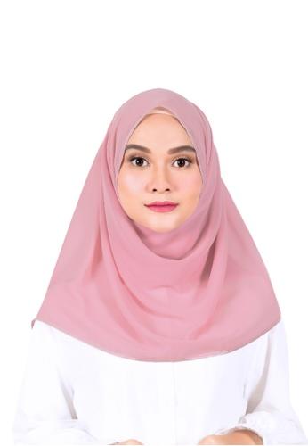 Ava Moony pink Ivy Scarf A156EAAC8982FDGS_1