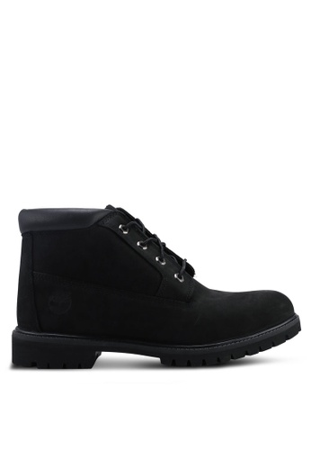 Timberland black Premium Waterproof Chukka Boots 92CD9SH9FC7326GS_1