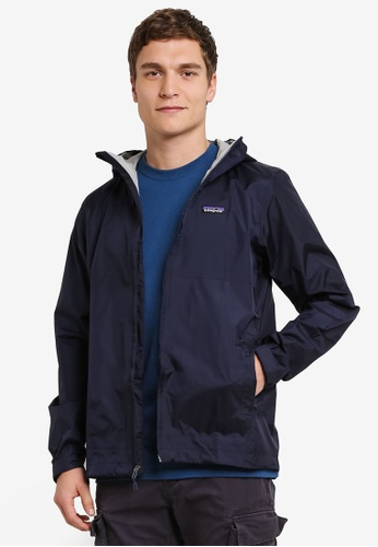 Patagonia navy Torrentshell Jacket PA549AA0RQBEMY_1