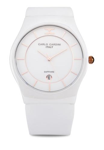 Carlo Cardini white Carlo Cardini Watch 4026LC-WHT-1 CA038AC88IZNMY_1