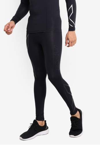 2XU 黑色 Compression Tights FC80EAA17DB97DGS_1