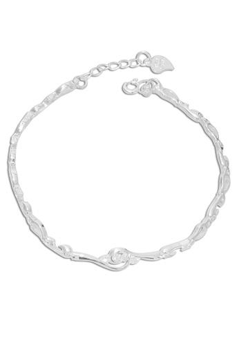 SC Tom Silver silver Twirl Ladies Stone Bracelet-BSAL027 SC872AC56WLRPH_1