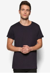 Cotton On navy The Other Turn Up T-Shirt CO372AA56YQLMY_1