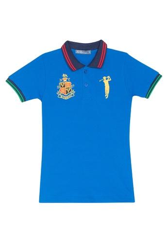 BOSSINI KIDS blue Polo Shirt 2A76CKA0C08F87GS_1