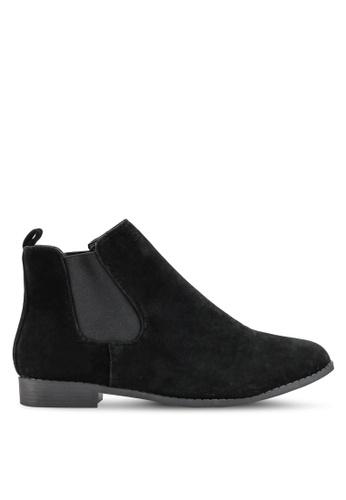 Brave Soul black Chelsea Boots B016ESH2153D67GS_1