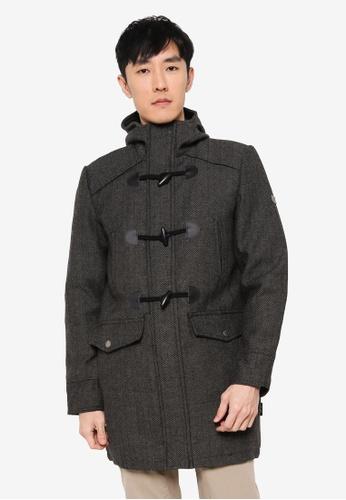 Indicode Jeans black Bald High Collar Coat 75EC8AAA38B535GS_1